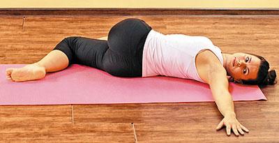 Упражнения на скручивание при остеохондрозе