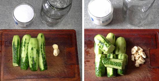 рецепты приготовления малосольных огурчиков